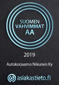 nikunen suomen vahvimmat yrityslogo